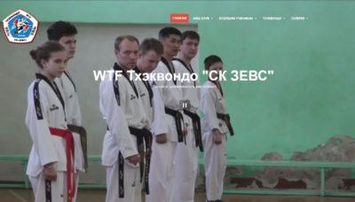 Корпоративный СК «Зевс»Тхэквондо