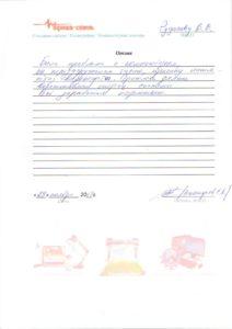 Отзыв от Сергея Костарева