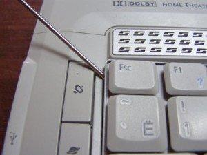 как самому сменить клавиатуру на ноутбуке?