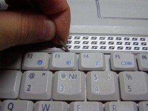 Заменить клавиатуру и не сломать клавиши