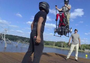 Летающий гироскутер