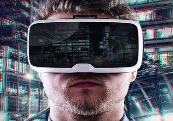 смартфон и очки VR