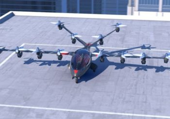 Воздушное такси от intel
